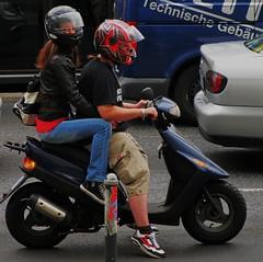 riding-a-Vespa