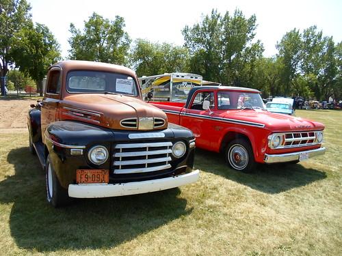 Canadian Pair - Mercury and Fargo trucks
