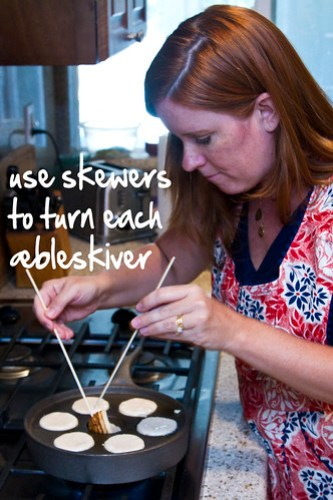 use skewers to turn