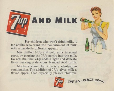 7up and Milk