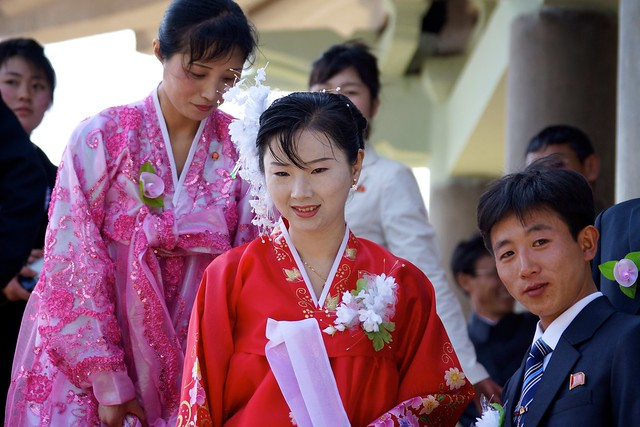 North Korean Wedding Party