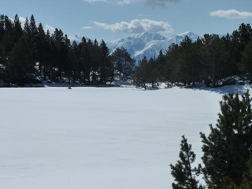 Géocaching lac Bouillouses