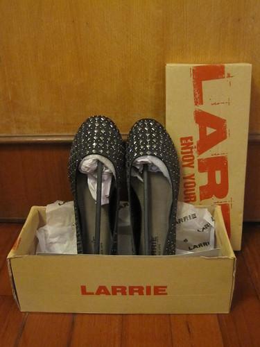 Larrie Studded Ballerina Flat