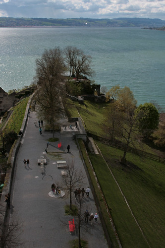 from the tower in Rapperswil castle