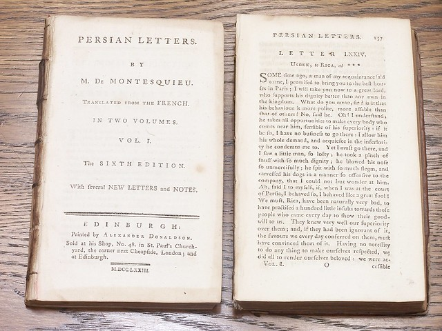 •1773 Montesquieu Persian Letters vol 2- 08