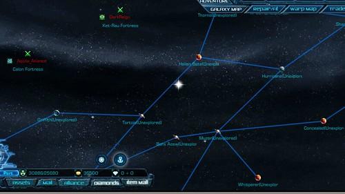 Light of Nova Galaxy