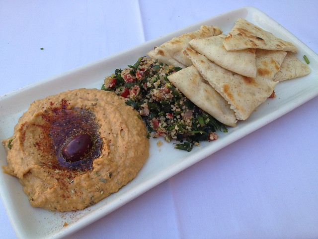 Mediterranean hummus and tabbouleh - The Tropicale