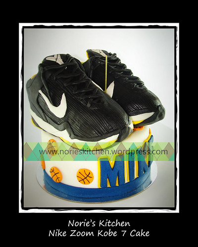 Norie's Kitchen - Nike Zoom Cake by Norie's Kitchen