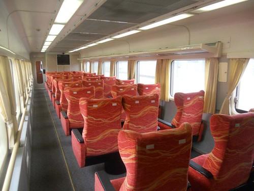PNR train seats