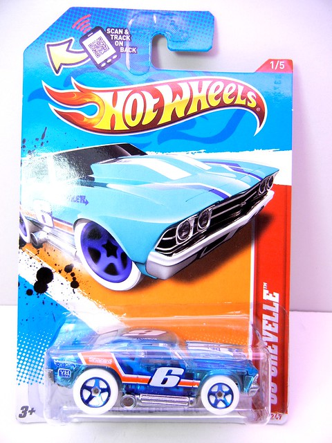 hot wheels '69 chevelle blue toon (1)