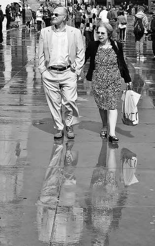 Walking After The Rain