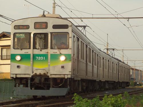 7001F @新郷〜武州荒木