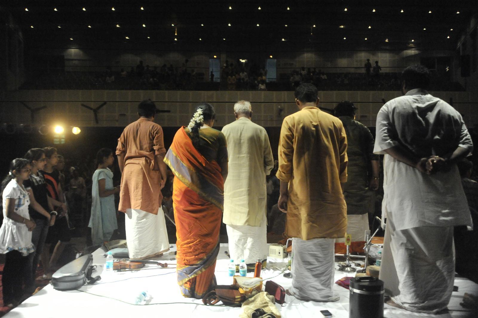 standing ovation, T V Sankaranarayanan, Carnatic Vocal