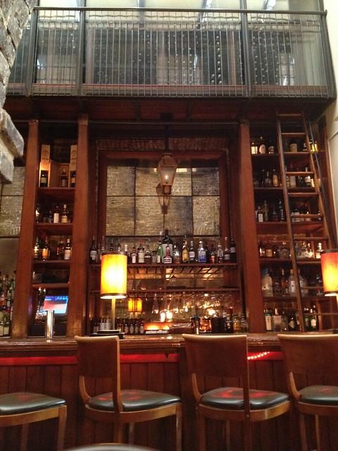 Bar area - McCrady's Restaurant