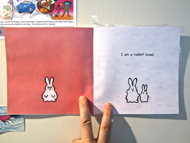 I am a rabbit / Nika Matsumoto (BCBF 2012). 11