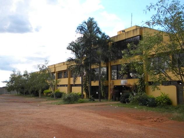 A frente do Brasília Hi Hostel