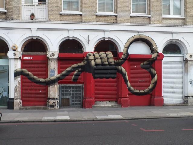 Graffiti, Shoreditch, London