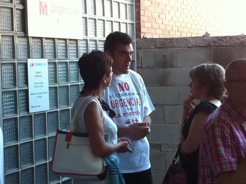 Portesta contra el cierre de urgencias en La Fortuna 3