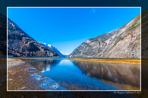 The start of the Sognefjord by Tor Magnus Anfinsen