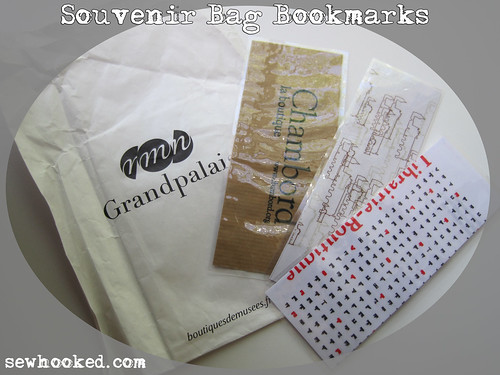 souvenir bag bookmarks