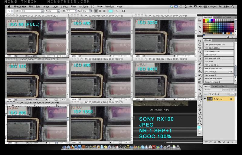 Sony RX100 noisetest