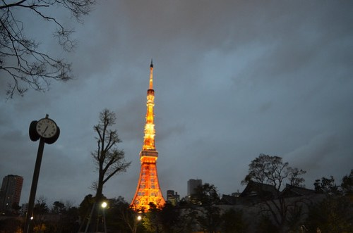 Hi, Tokyo Tower!