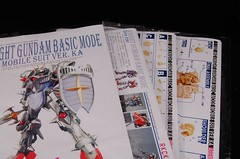 MG Knight Gundam Basic Mode Resin Conversion Kit (14)