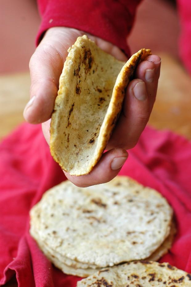 flour tortillas that bend