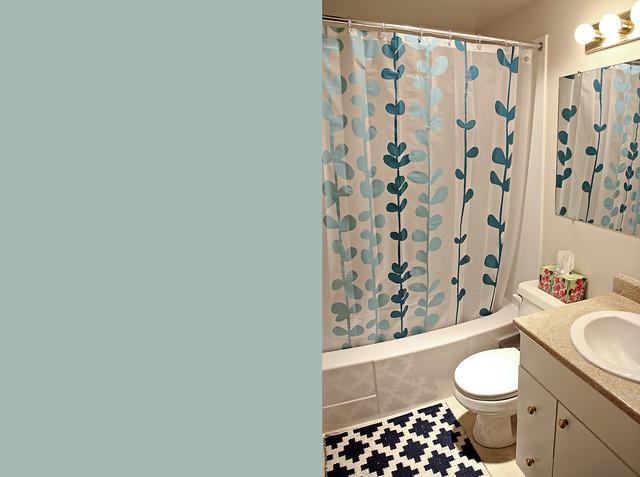 bathroom, finished