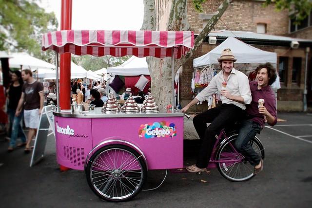 gelato dinking