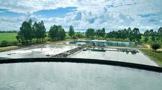 La planta de filtros de Minera Alumbrera