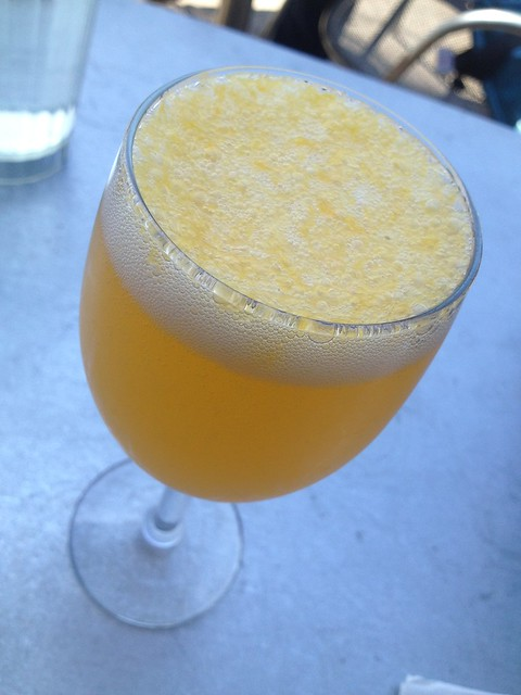 Valencia orange mimosa - Universal Cafe