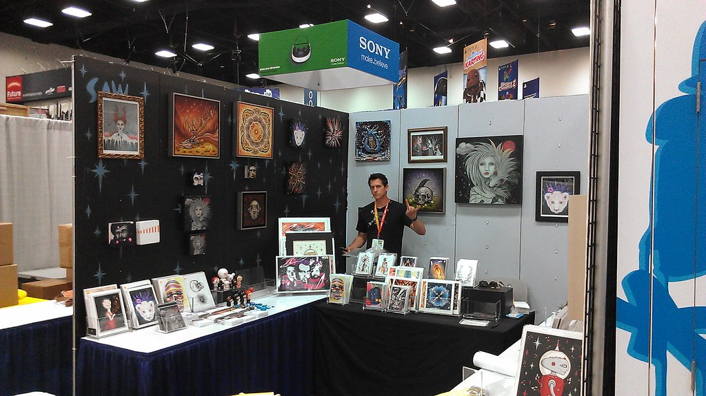 Booth Set Up
