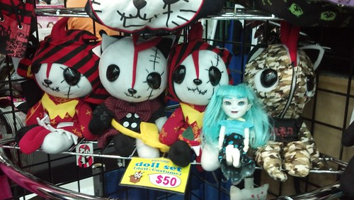 Makie Doll Among the Hangry and Angry Dolls