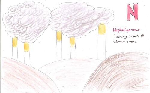 n - nepheligenous
