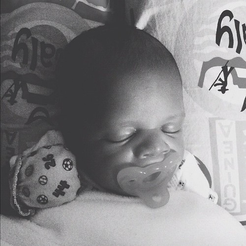baby boy is knocked out #hickstwins #vscocam