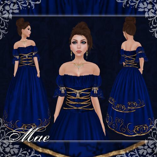 Mae - Gown - Sapphire