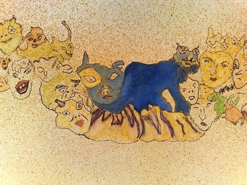 mais um detalhe da Cauda Animada by Manuela Gandra