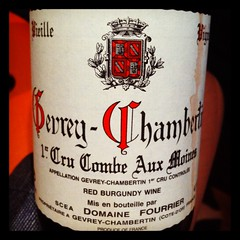 Domaine Fourrier Gevrey-Chambertin Combe Aux Moins 1999