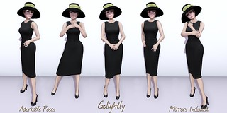 Adorkable Poses:  Golightly