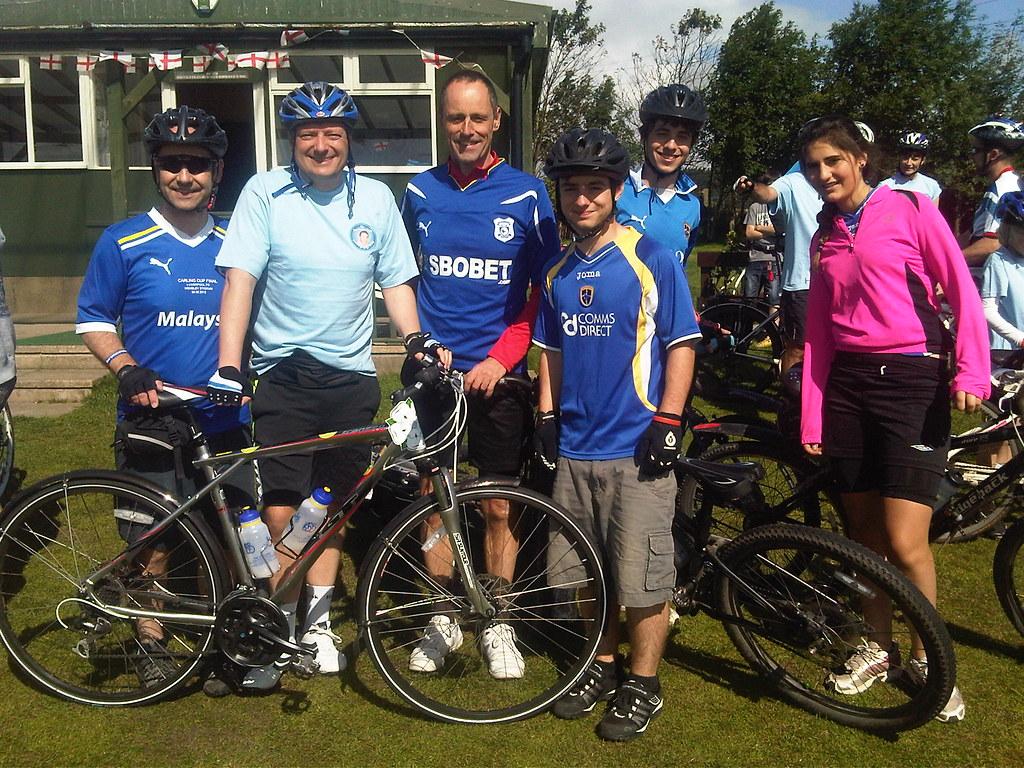 Huw Thatcher Trust Biking Challenge