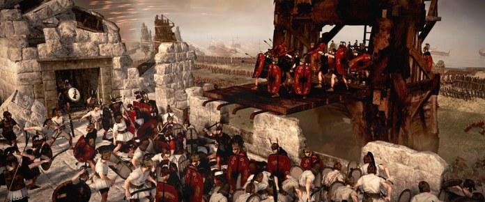 Rome II - Carthage - Mounting the walls