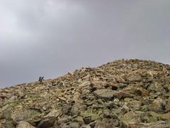 Rick Escaping La Plata's Summit