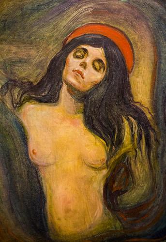 Edvard Munch,  Madonna, Edvard Munch Museum, Munch