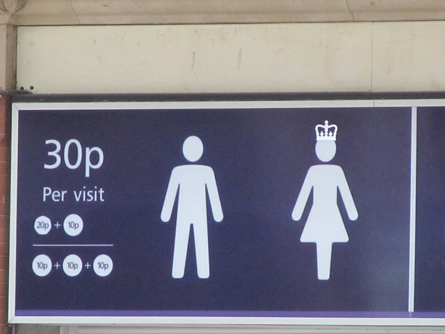 30p for a go on the Queen's throne...