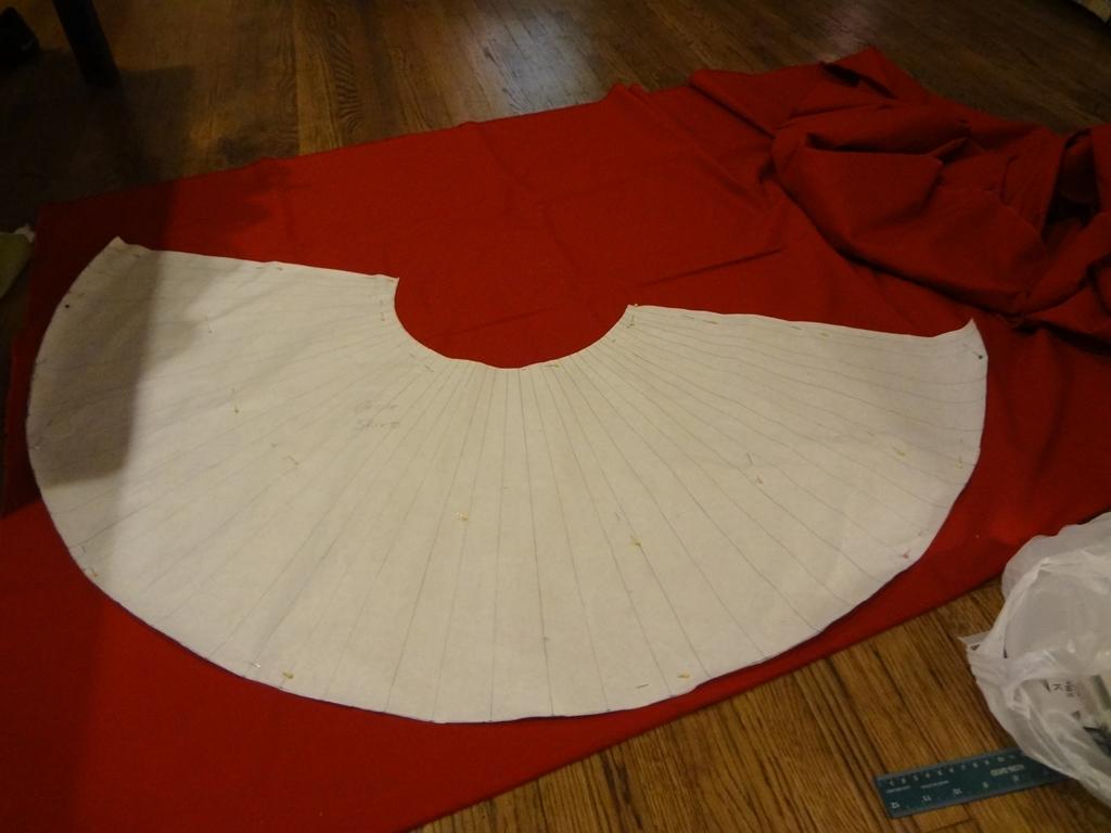 circle on cloth