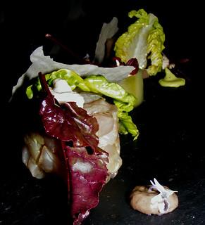 Makreel - olijf - komkommer - filo