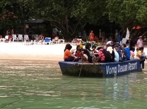 Barge Koh Samet