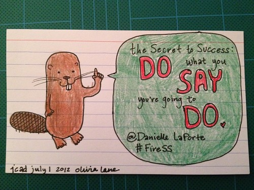 The secret to success by itsolivialane