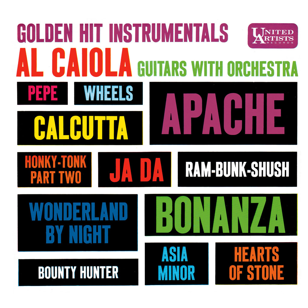Al Caiola - Golden Hit Instrumentals